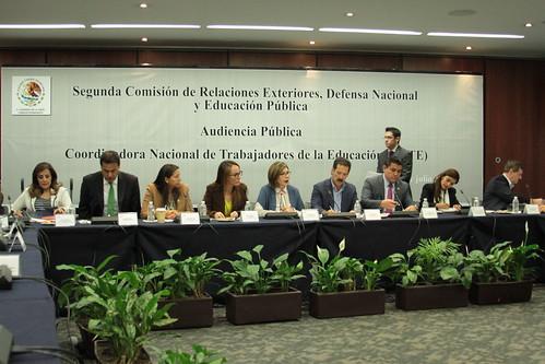 El día 15 de julio se llevó a cabo en el Senado de la República la Audiencia pública con la Coordinadora Nacional de Trabajadores de la Educación.