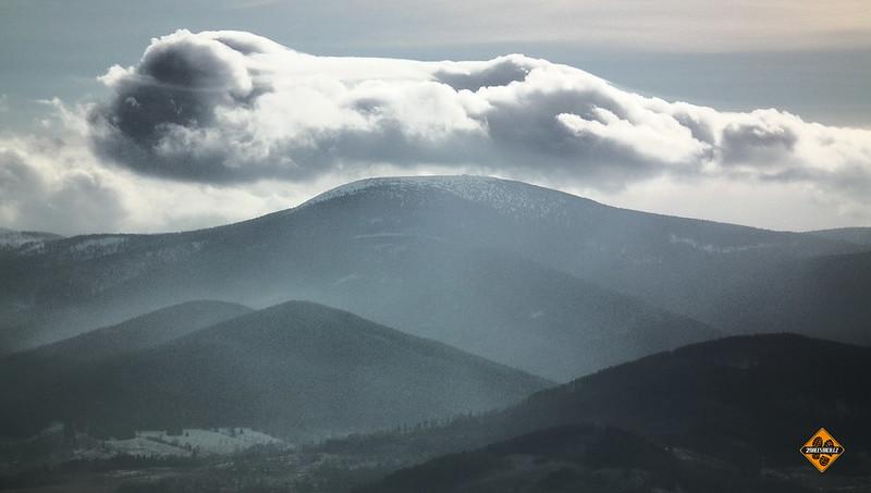 Na Borůvkovou horu z Jeseníků