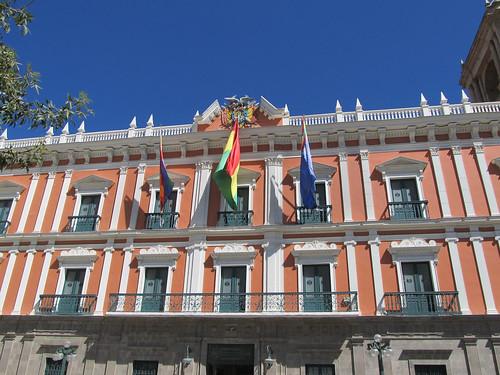 La Paz: el Palacio Legislativo (le Congrès)