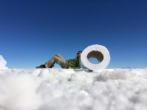 Le Salar d'Uyuni: séance de photos conceptuelles