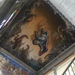Castle - ceiling mural