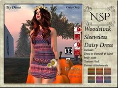 NSP Woodstock Daisy Tank Dress - V3