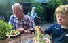 McThug approaches a Marktfrische Blattsalate