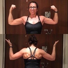I never thought I would say this, but I\'m kinda starting to like #upperbodyday... I want more #back #muscles! :muscle: ... please excuse the ridiculous flexing, I have no idea how to #flex properly... . #xxfitness #redditxxfitness #xxfitness #powerlifter