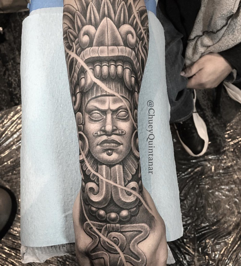 Quetzalcoatl Tattoo Done At The At Bayareatattooconvention Flickr