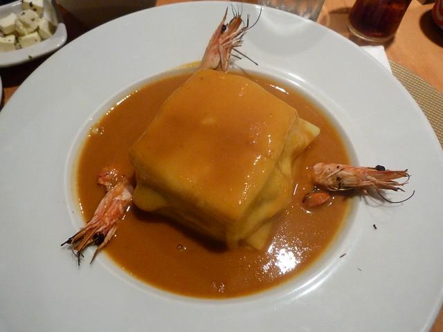 Francesinha de Portobeer (Tróia, Alentejo)