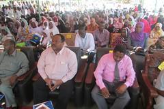 The launching ceremonies Audience and Guests - Khashim Algirba locality - Kassala