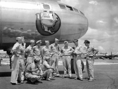B-29 City of Sharon full flight crew