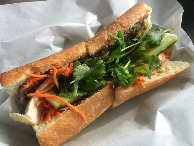 Combination pork sandwich - Que Huong Vietnamese Deli