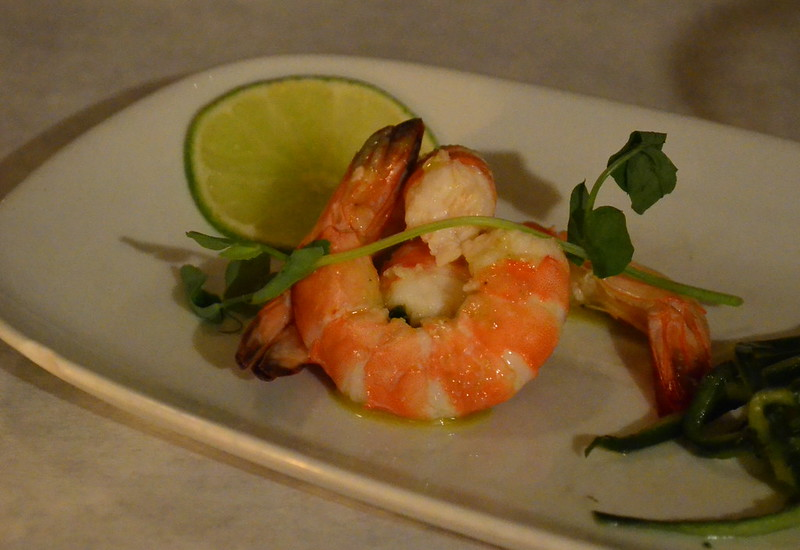 Lemongrass Poached Shrimp