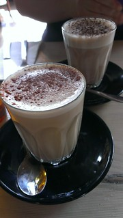 Chai and Mexican Hot Chocolate at Smith & Daughters