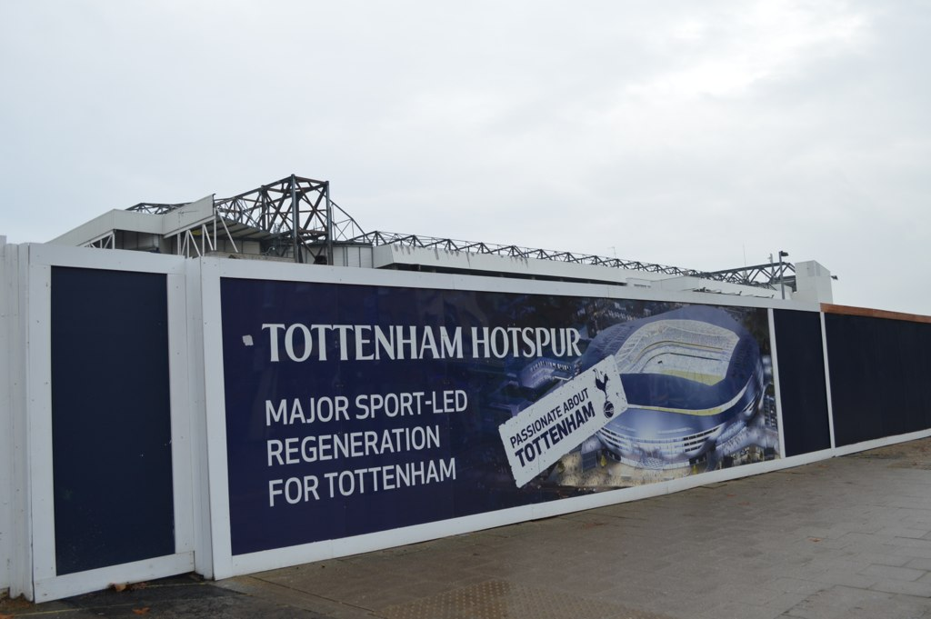 New stadium Tottenham