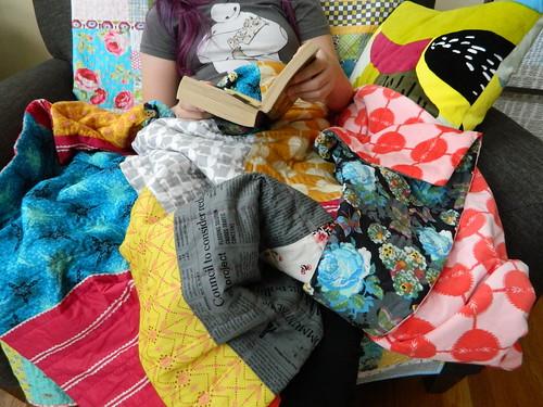 super comfy quilted blanket