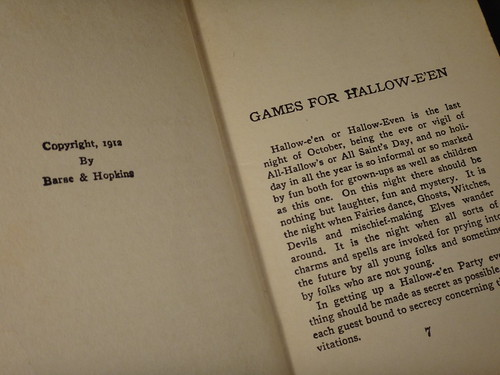 Games for Hallowe'en_Title Page