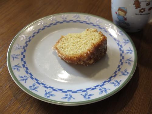 Zitronenkuchen zum Kaffee