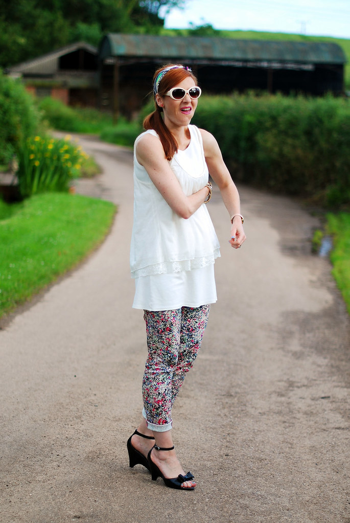 Fashion blogger blooper