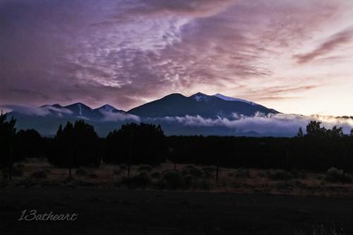 arizona sunsets northernarizona sanfranciscopeaks cloudporn
