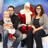 Our little family with Santa!