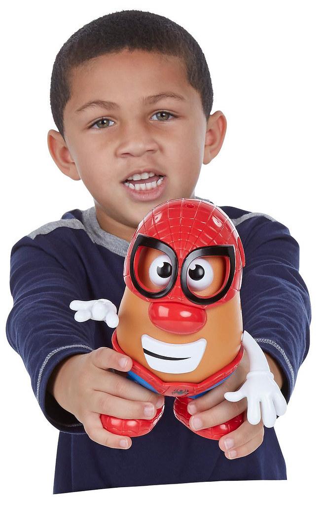 MARVEL X Mr. Potato Head【鋼鐵人 vs. 蜘蛛人】老蛋頭的回歸,貧富大對決!!誤~~