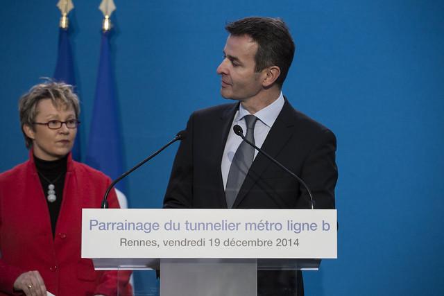 Rennes : Manuel Valls lance les travaux la ligne B du métro