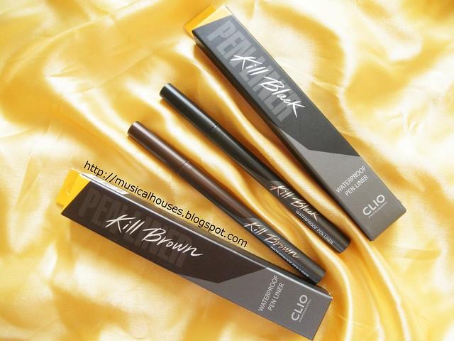 Clio Eyeliners Waterproof Pen Eyeliner
