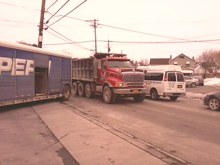 Town of New Paltz DPW Sterling Dump Truck