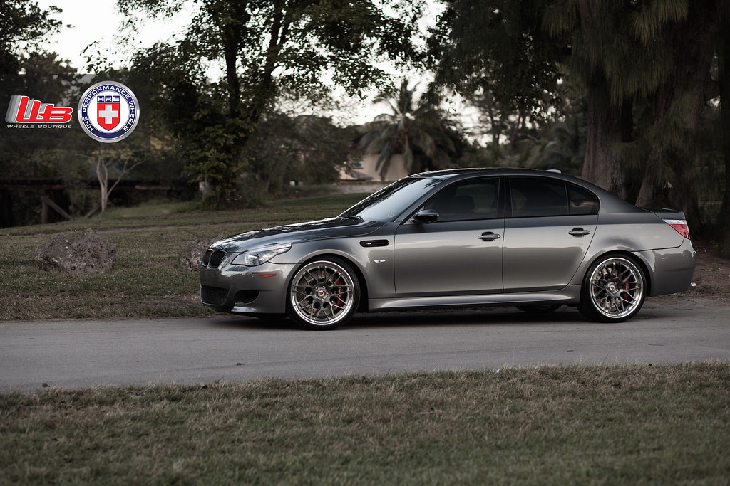 Bmw E60 M5 On Hre Rs100 Bmw M5 Forum And M6 Forums