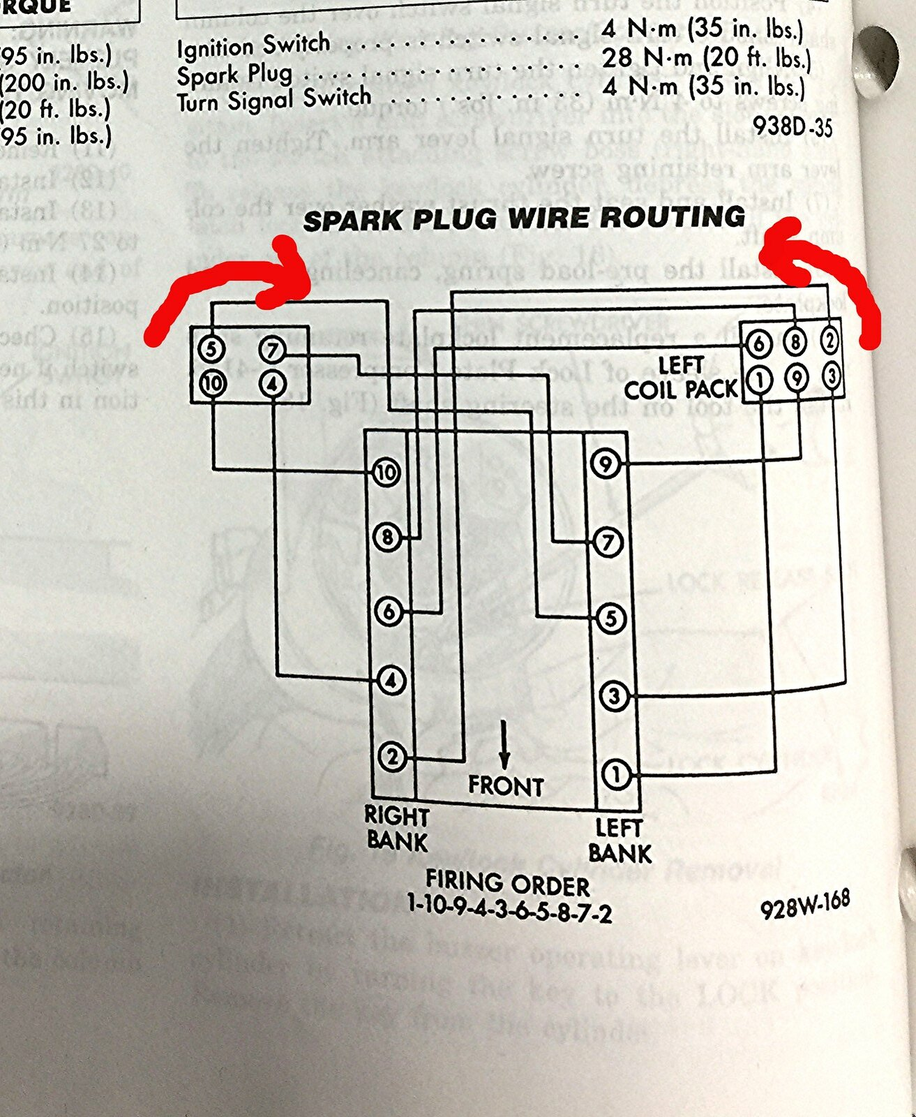 Gen 1 Plug Wire Routing Diagram [Archive] - Viper Owners Association