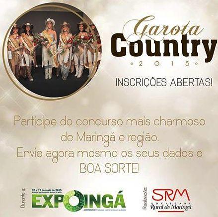 garota country 2015