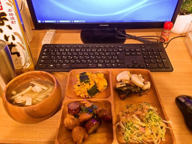 2015年1月19日(月)夕食