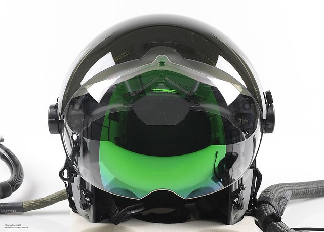 Royal Air Force Typhoon Pilot's Helmet