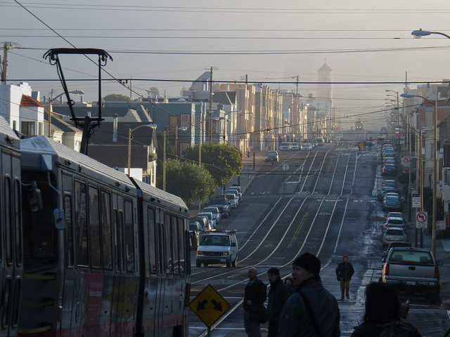 Morning, Judah and 25th; The Sunset, San Francisco (2014)