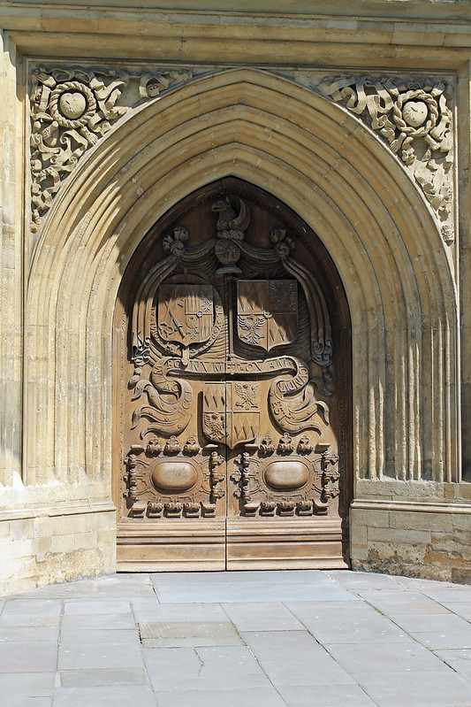 door to cathedral