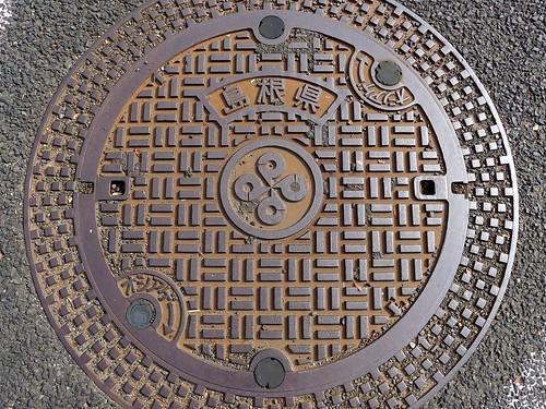 Shimane, manhole cover 3 (島根県のマンホール3)