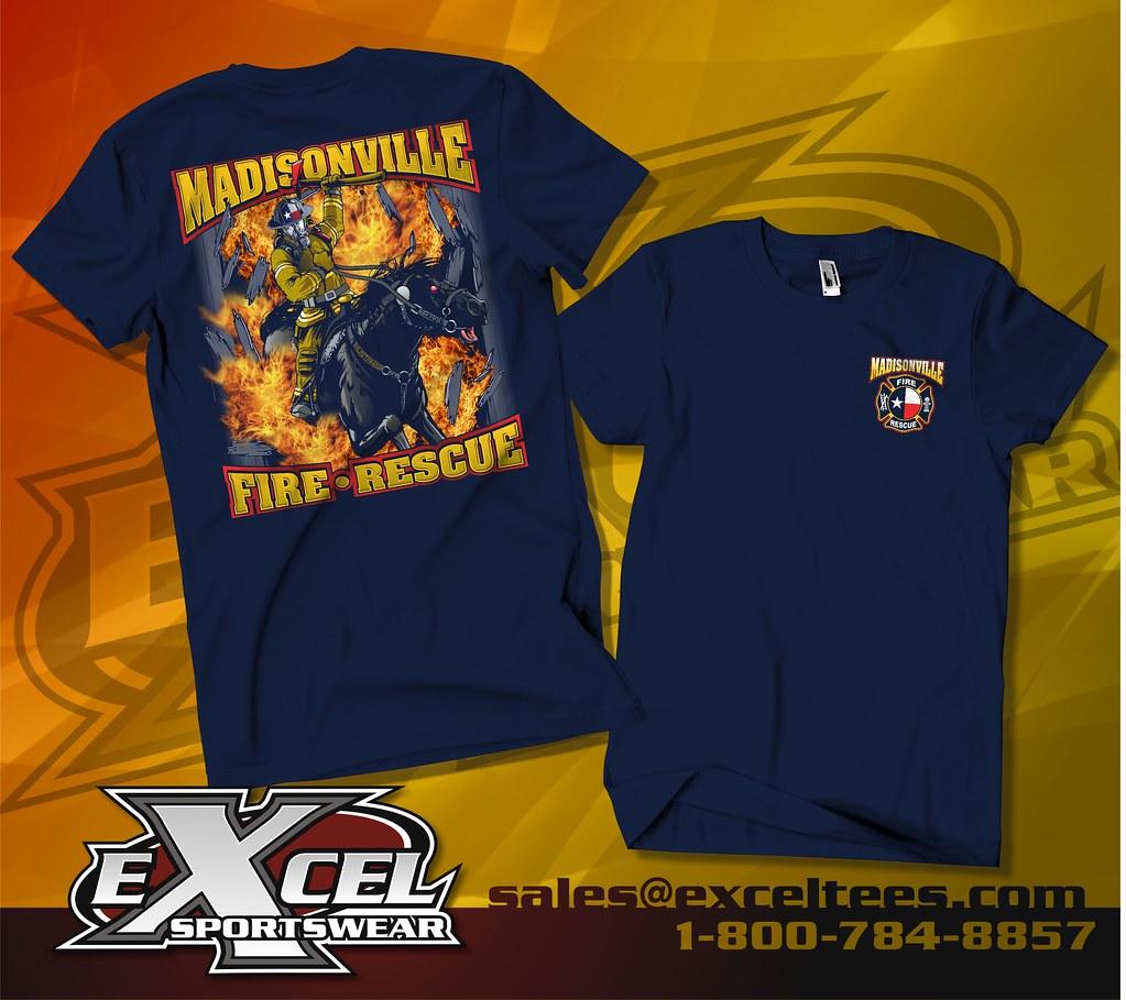 Shirt design tampa - Madisonville Volunteer Fire Department Madisonville