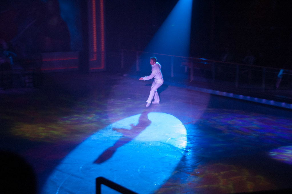 Ice skating show on Royal Caribbean