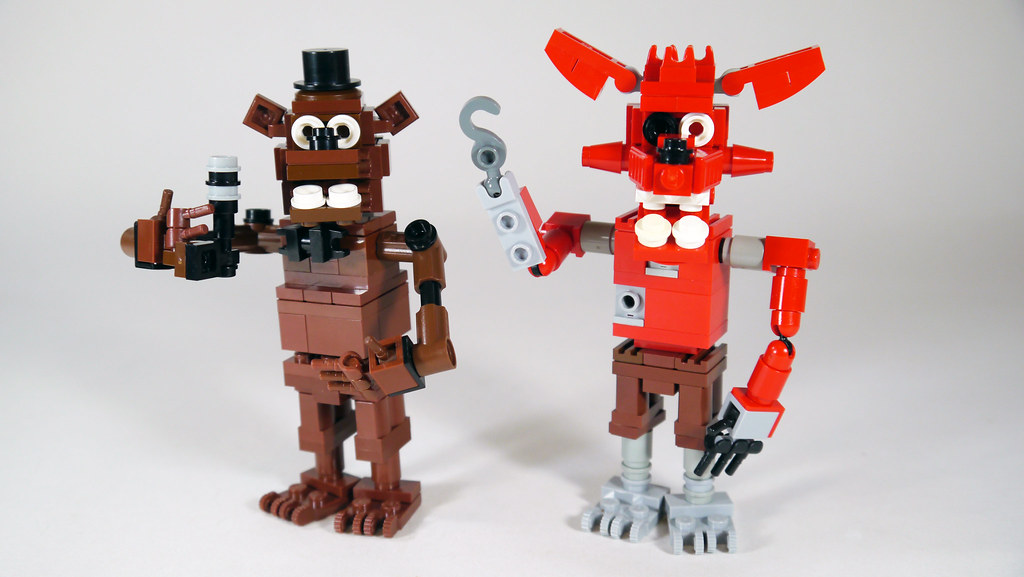 Five nights at freddy s building lego brickpicker