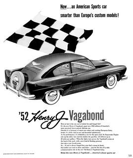 1952 ... Henry's Vagabond!