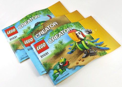 LEGO Creator 31031 Rainforest Animals ins02