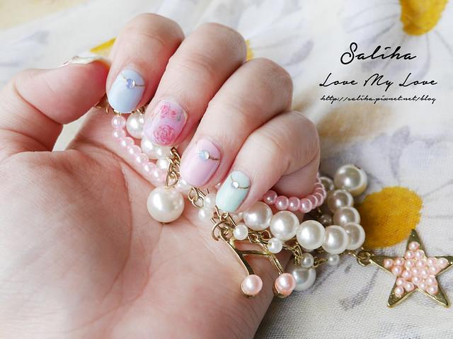馬卡龍光療指甲 (10)