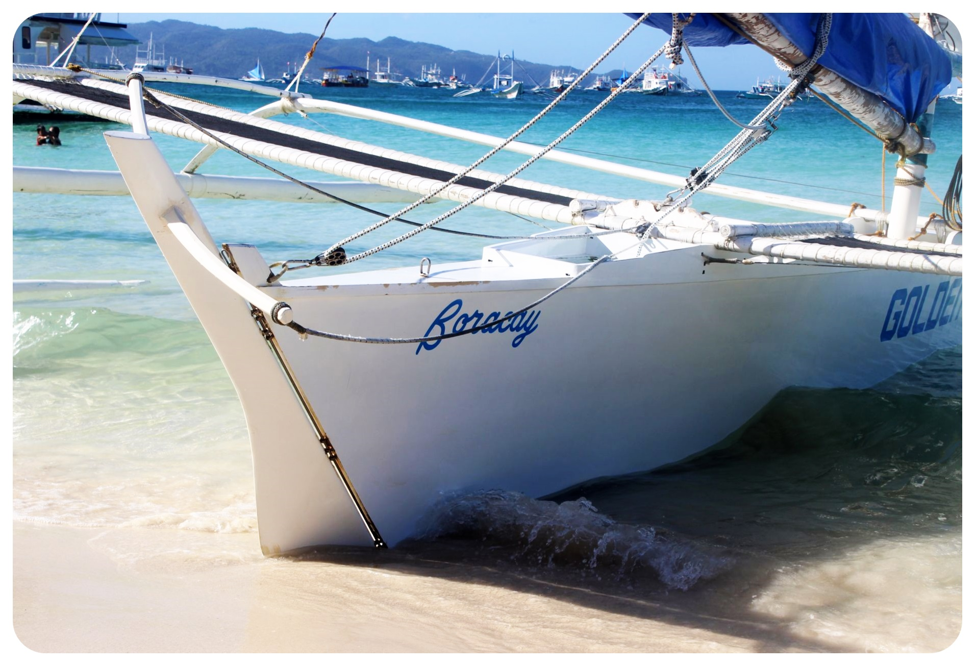 boracay boat philippines