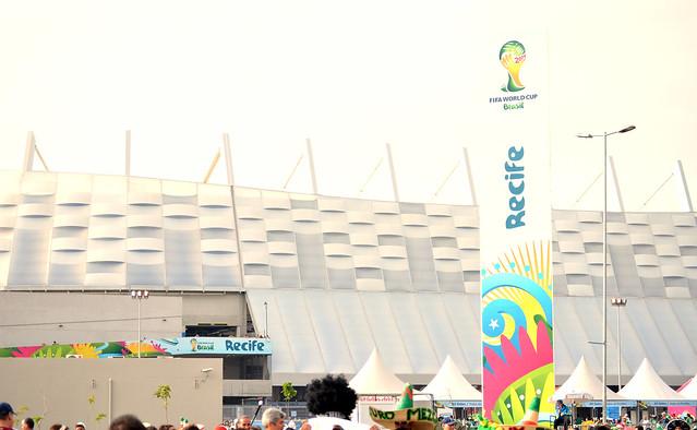 Copa do Mundo 2014 | Arena Pernambuco, Recife - PE {junho 2014} | Muito amor envolvido (e muitos mexicanos também).