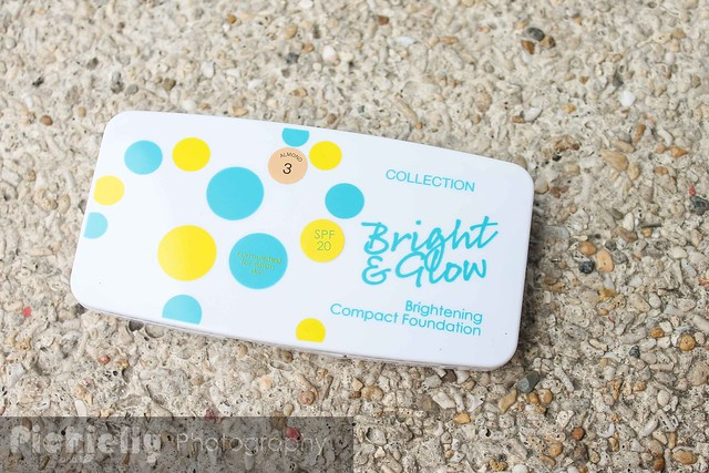 Collection Cosmetics Bright and Glow Compact Foundation |Nitty Gritty Reviews