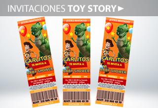 Toy Story invitaciones a cumpleaños