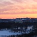 Lincoln, Sunset, Snow
