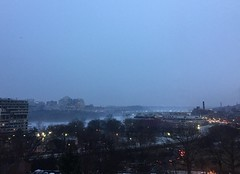 Foggy Potomac from Foggy Bottom