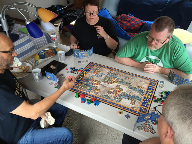Tigris and Euphrates with Jeff, Rita, Ken, and KC