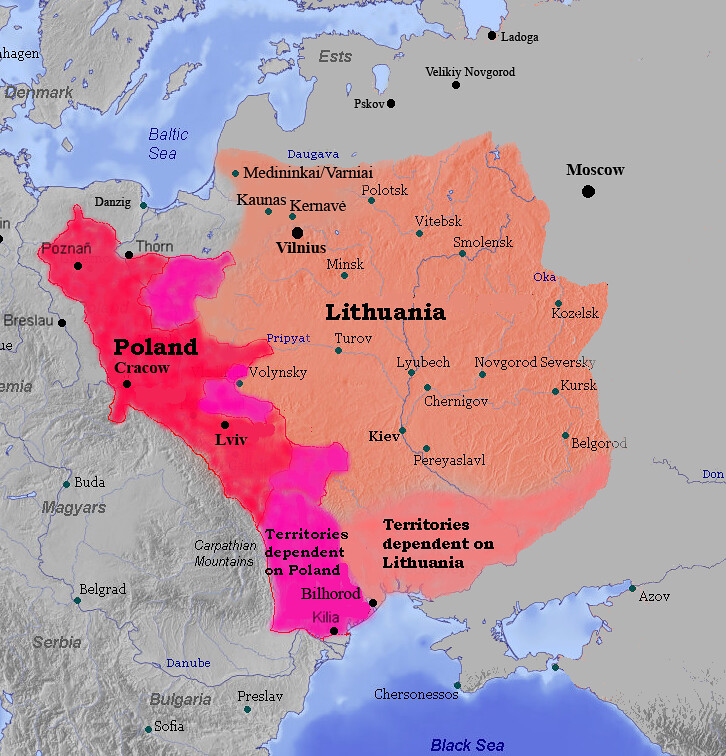 Lithuania and Poland in 1387
