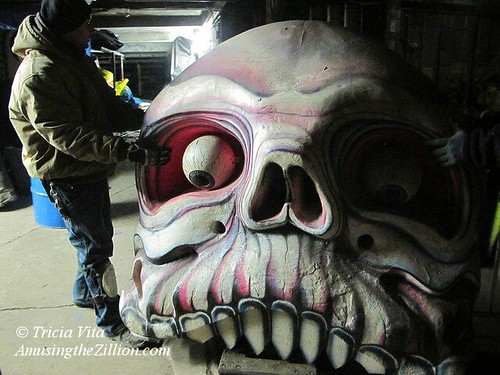Skull from dark ride