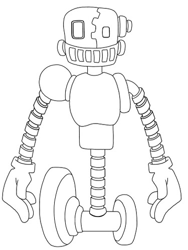 Robot - Outline